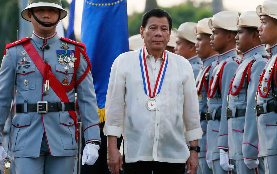 Phillippine President Rodrigo Duterte