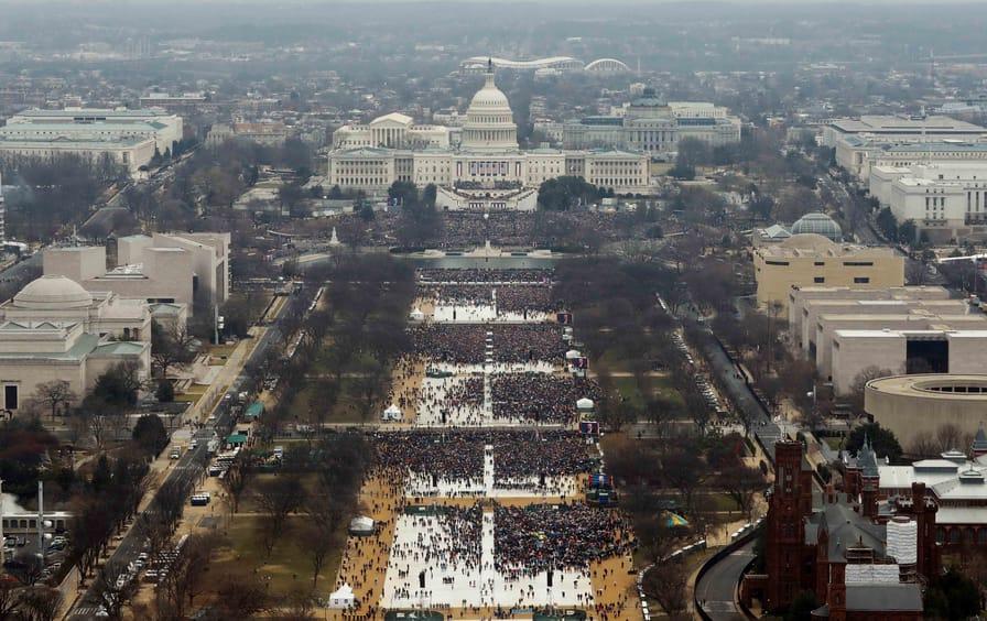 Donald Trump's inauguration.