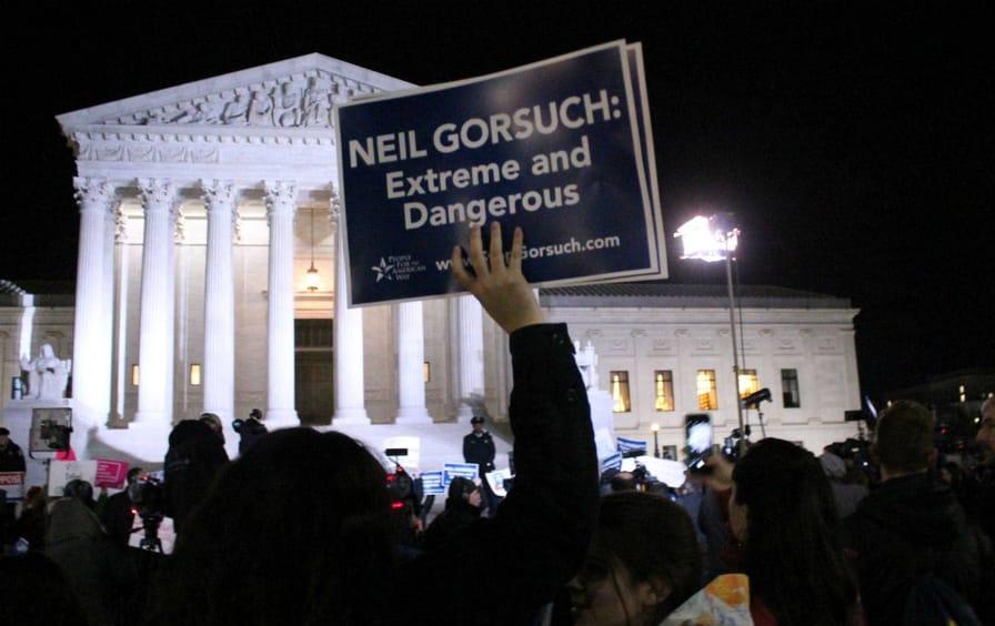 Neil Gorsuch Supreme Court Nomination Protest