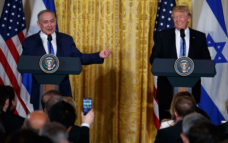 Trump and Netanyahu Joint Press Conference