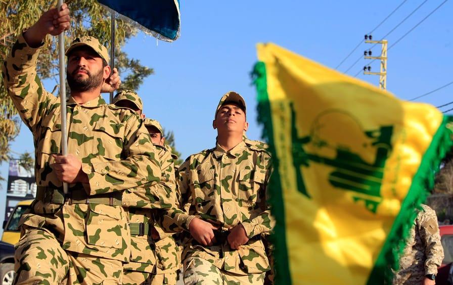 Hezbollah demonstration in Lebanon