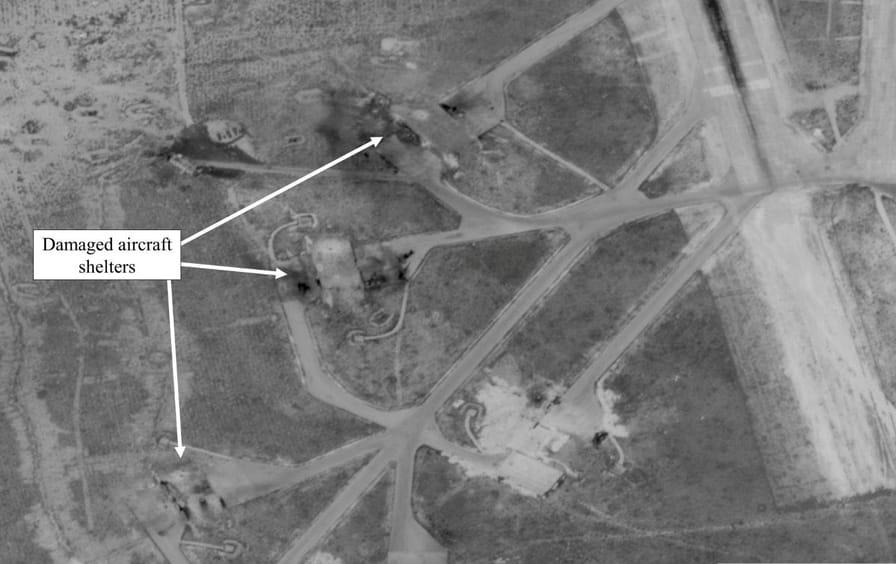 Trump Syria Air Strike Impact