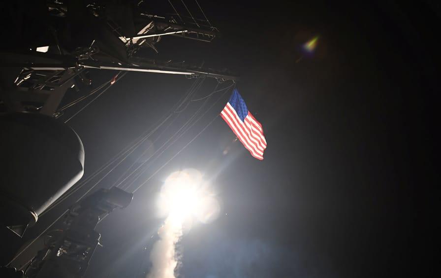 Cruise-Missile Strikes against Syria