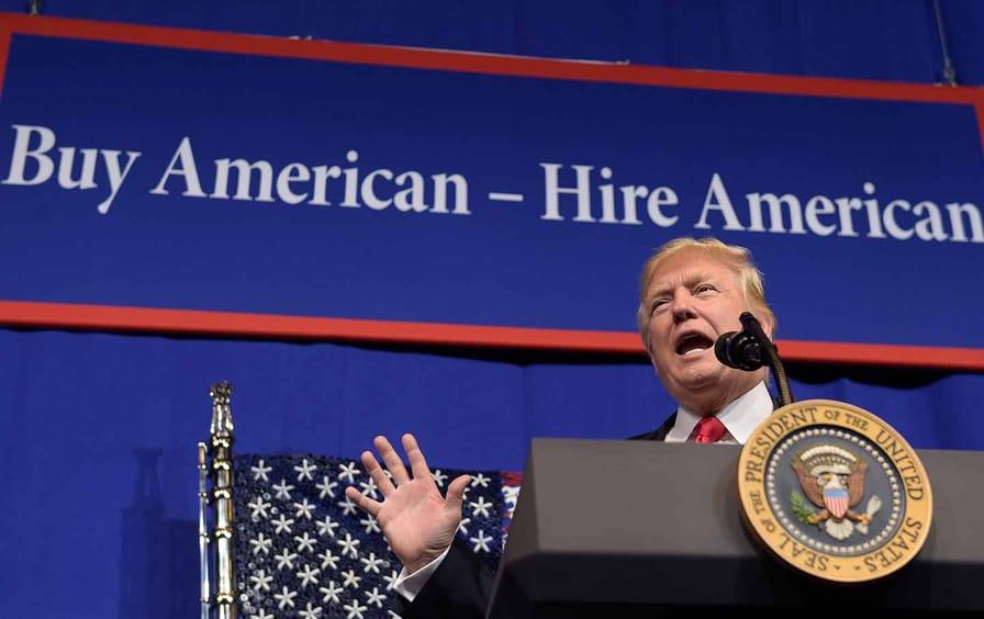 donald trump buy american