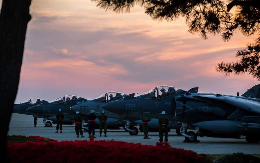 north korea marines