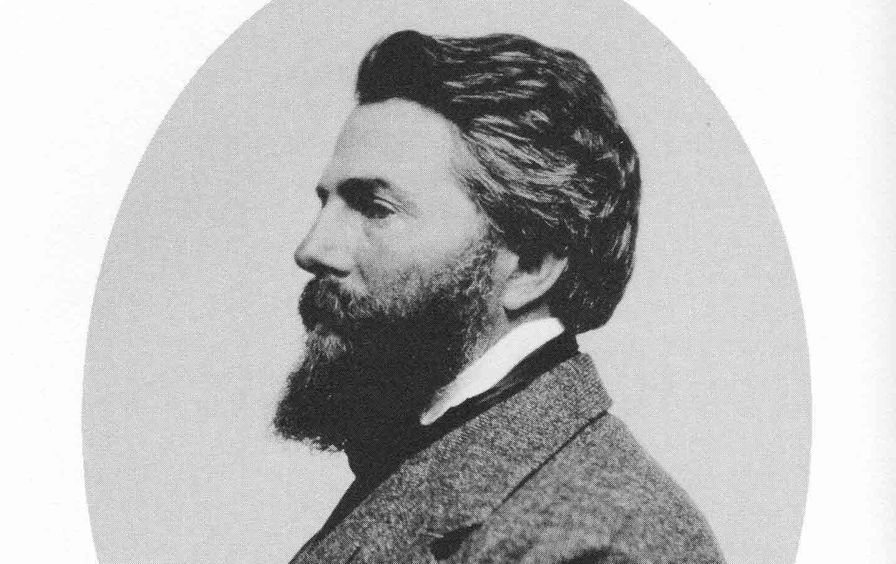 Portrait of Herman Melville