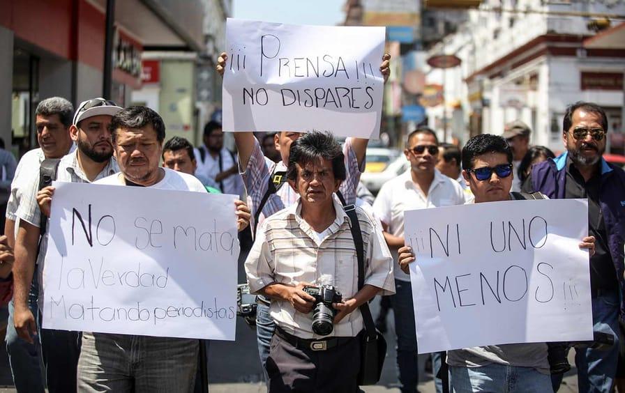 Journalists Protest in Veracruz