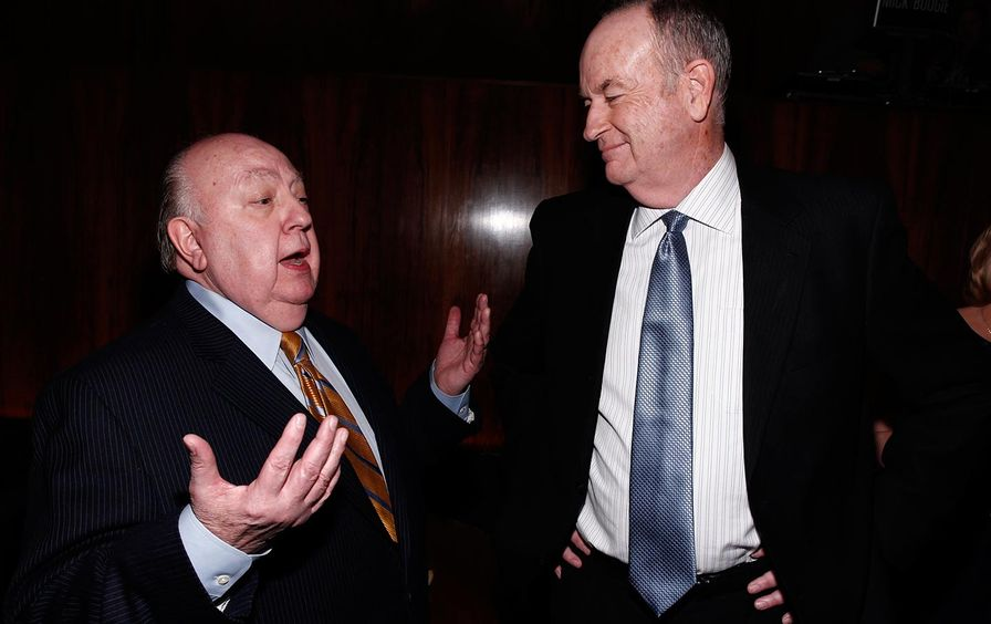 Roger Ailes and Bill O'Reilly