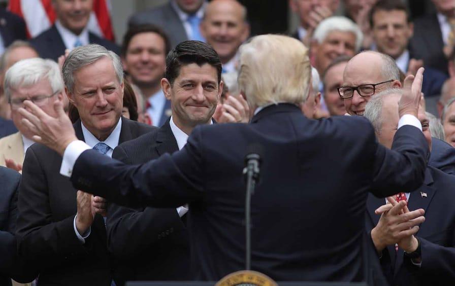 Trump and Republicans celebrate AHCA