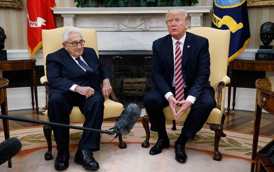 Trump and Kissinger