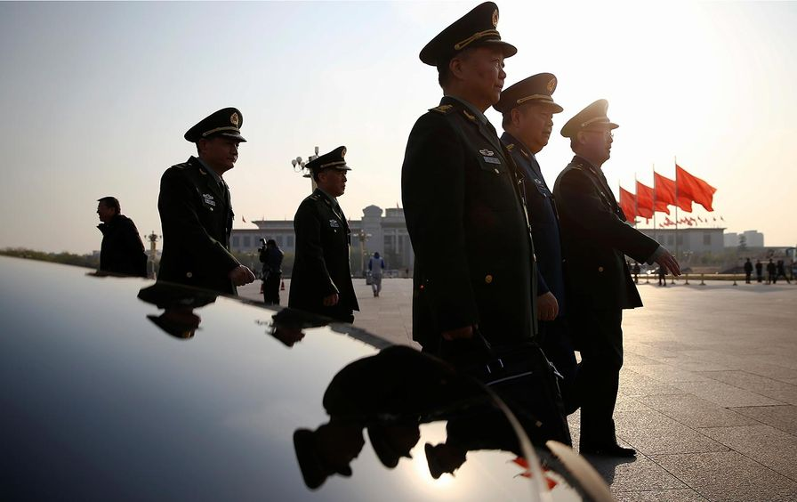 Chinese Military Delegates