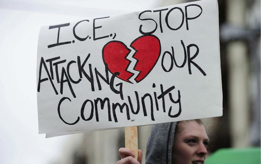 Anti-ICE Protests
