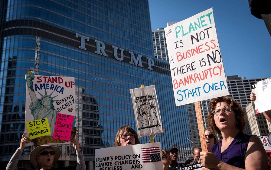 Chicago Climate Protest