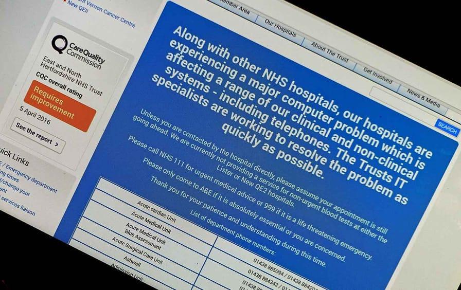 National Health Service website