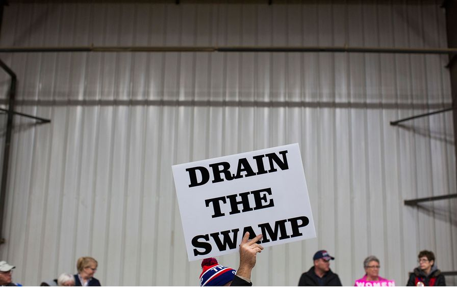 Drain the Swamp sign