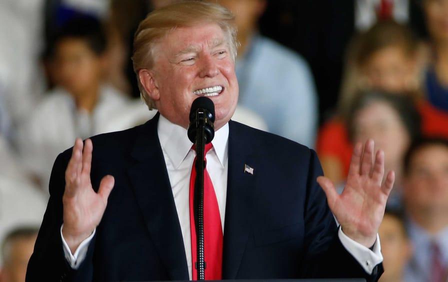 Trump in Virginia