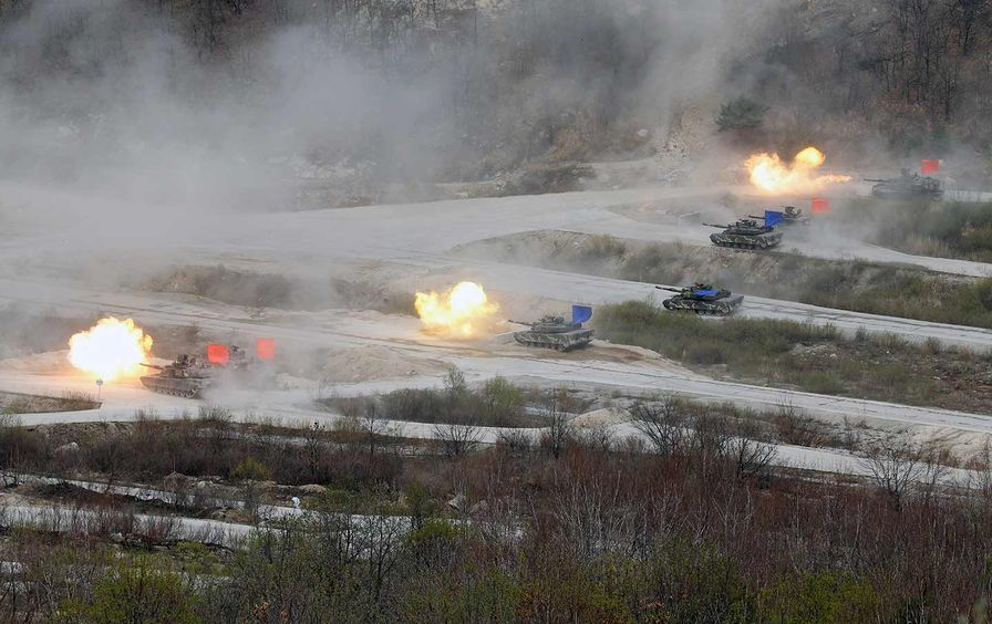 US-South Korean Joint Military Exercise