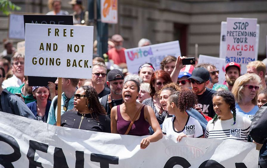 Portland Counter-Trump Rally