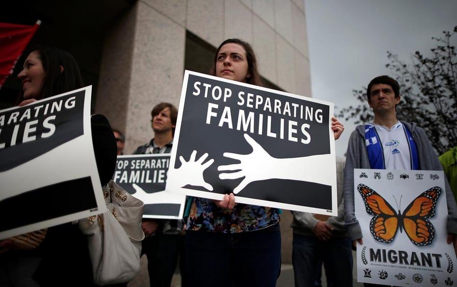 Anti-deportation protest