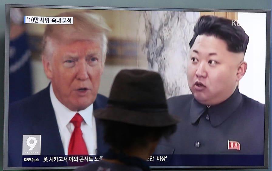 Trump Korea Standoff