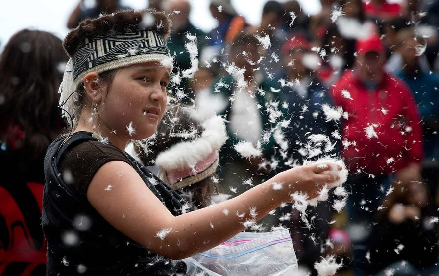Young Member of the Haida Nation
