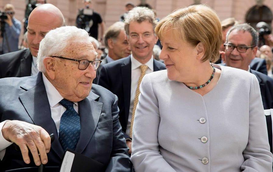 Kissinger Merkel GMF