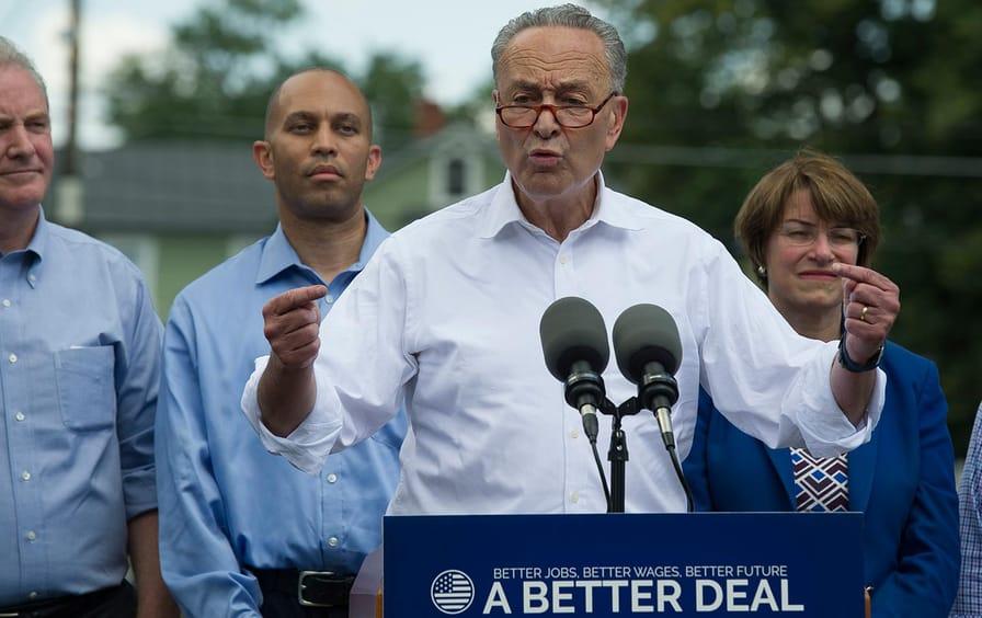 Chuck Schumer and Democrats
