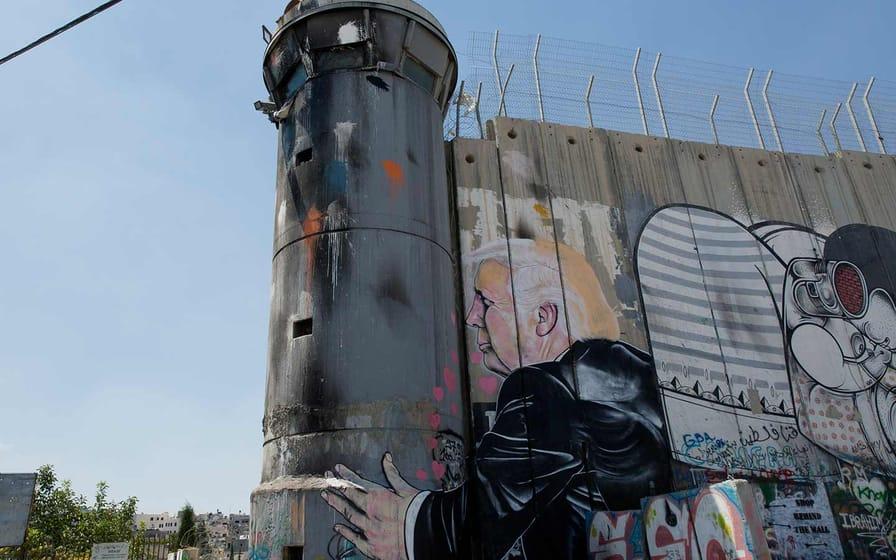 Trump Mural Bethlehem