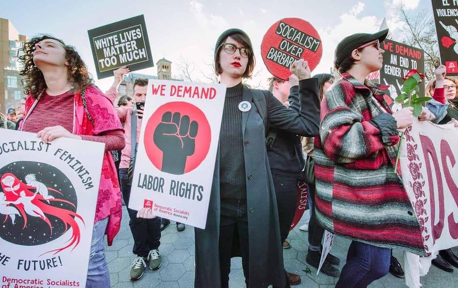 womens strike dsa