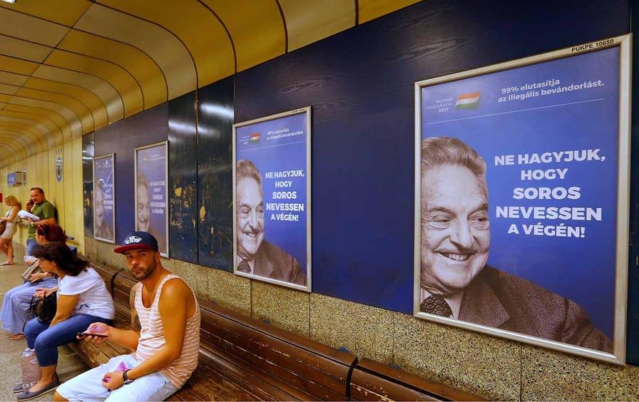Soros posters