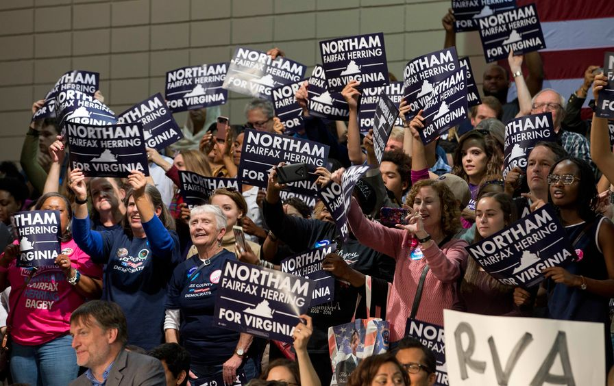 Ralph-Northam-supporters-Virginia-ap-img