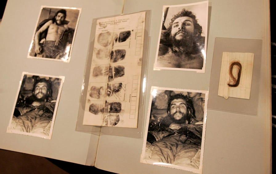 Che Guevara body photos