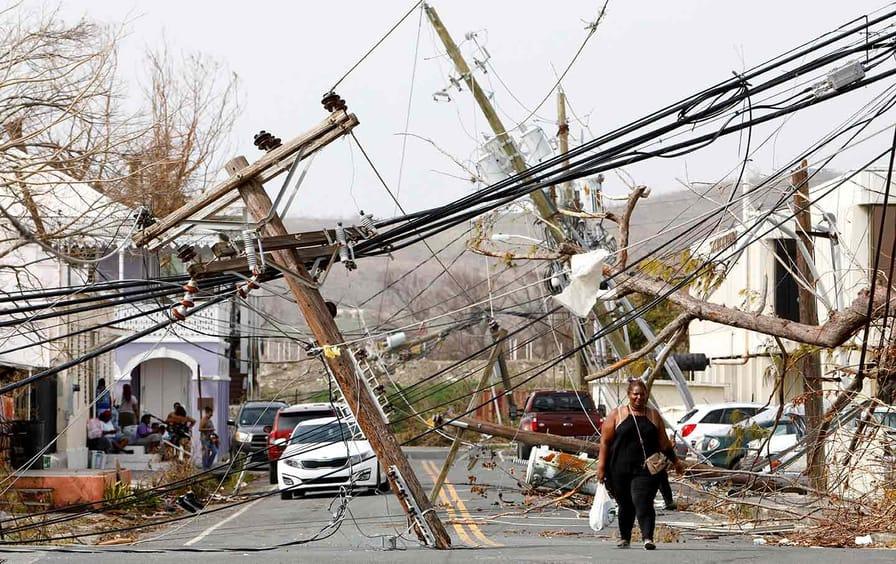 Hurricane Maria, Virgin Islands