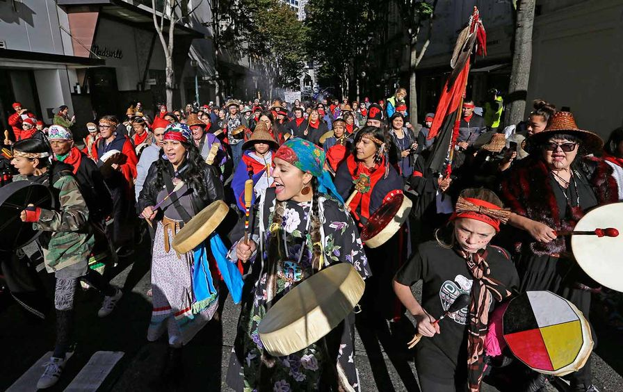 Indigenous Peoples' Day Seattle
