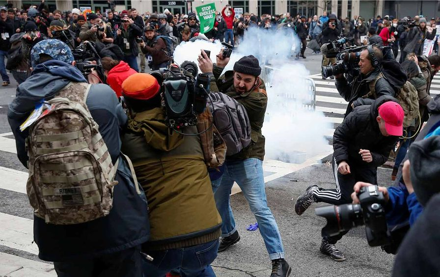 J20 Protesters