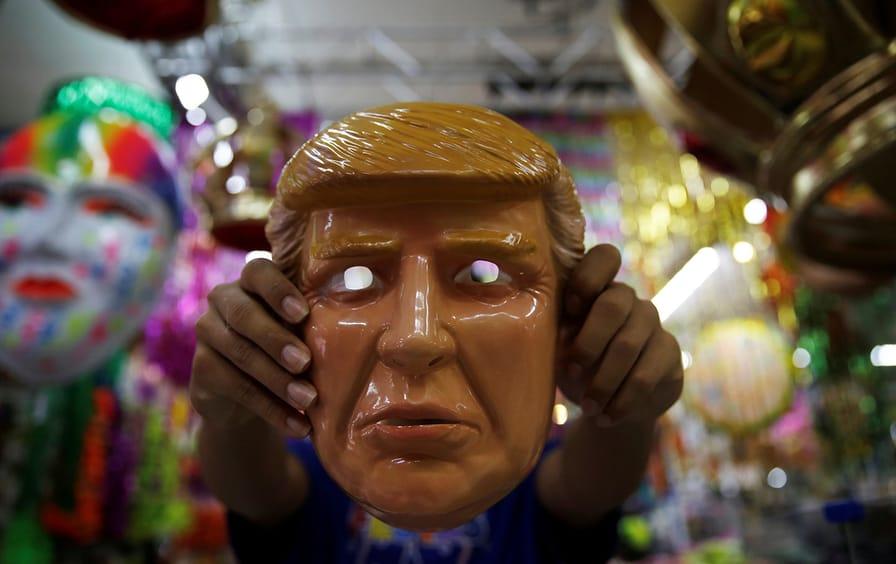 Trump Halloween Mask
