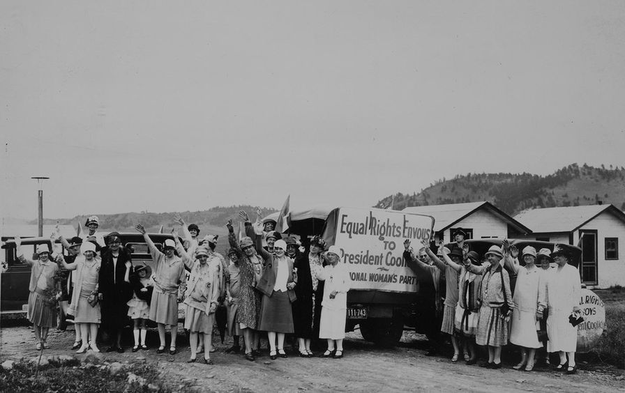 National Woman's Party envoys, 1927