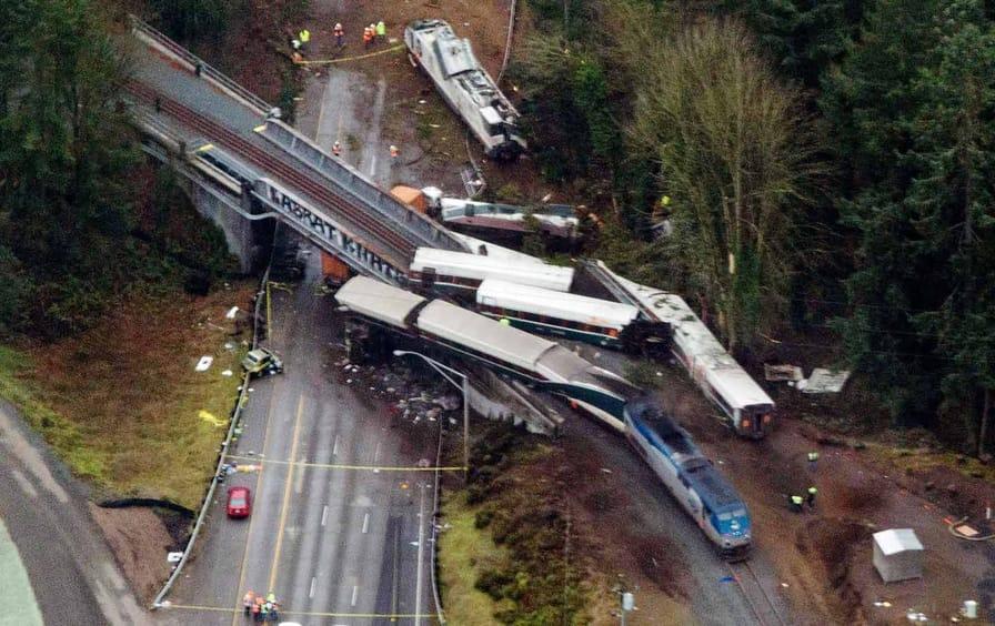 Amtrak Derailment Washington