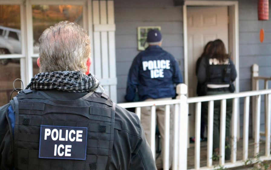 (Bryan Cox / ICE via AP)