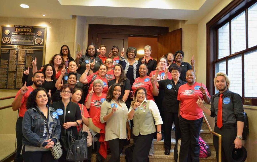 UNITE HERE hotel workers