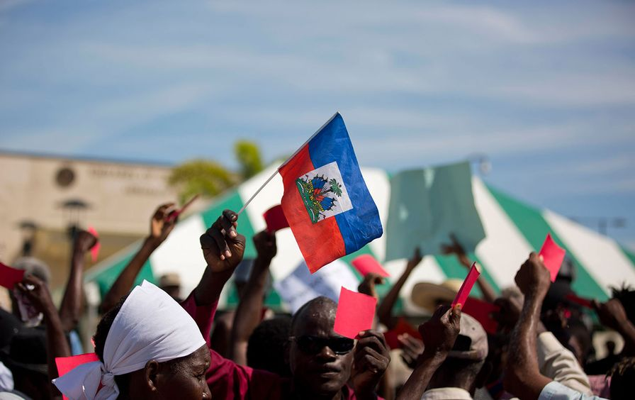 Haiti Trump reaction