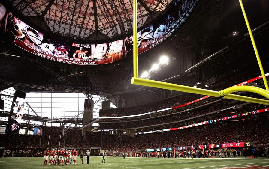 Atlanta's new $1.5 billion Mercedes-Benz Stadium