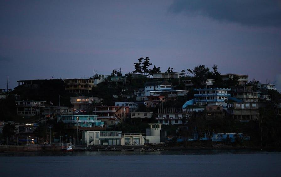 Puerto Rico no electricity