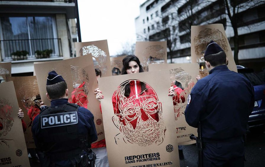 Turkey Journalists Protest