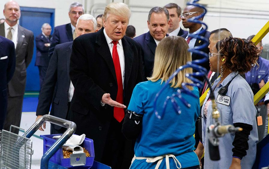 Trump Carrier Working Women