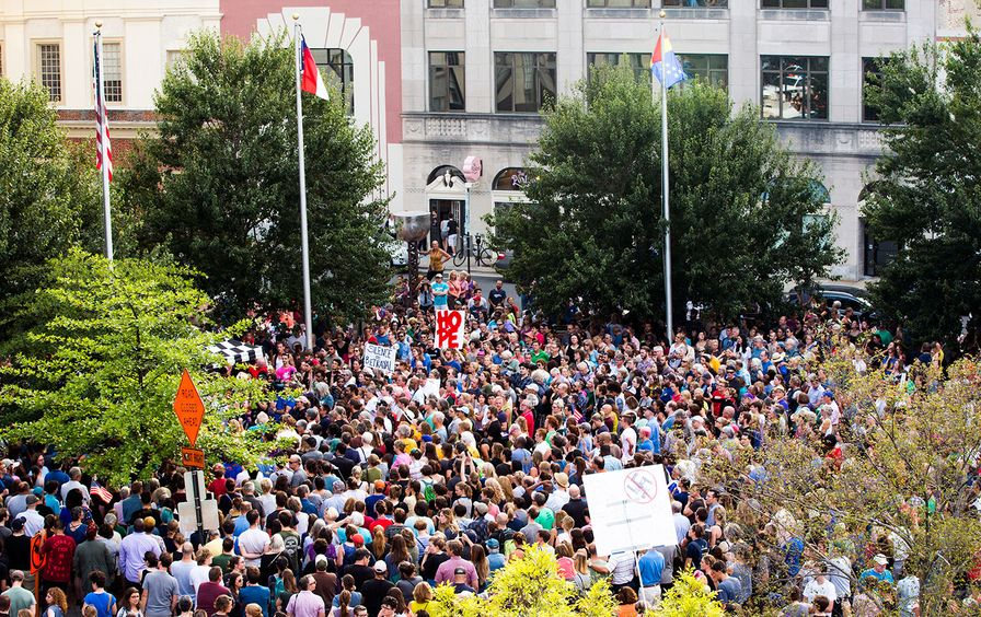 durham-charlottesville-protest-ap