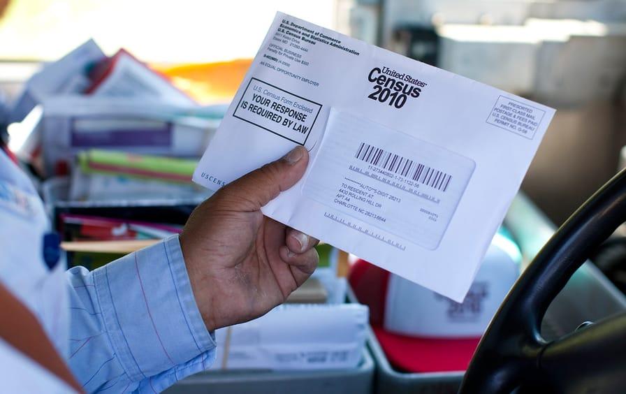US census 2010 letter