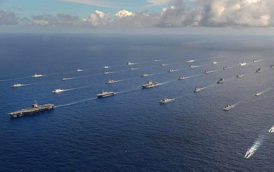 US Navy Pacific Ocean