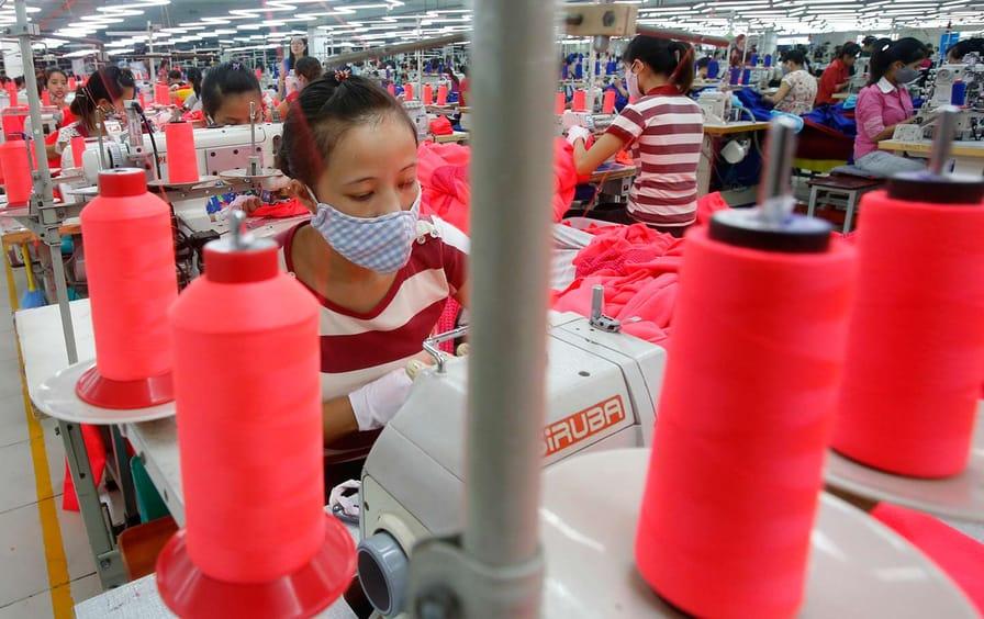 Vietnam Garment Factory Workers