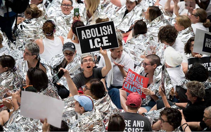 Abolish Ice Protest